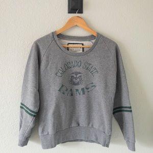 Tops - Women's Colorado State University Rams Sweatshirt